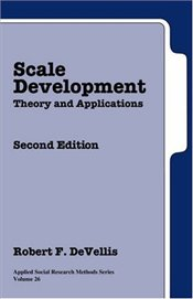 Scale Development : Theory and Applications 2e - DeVellis, Robert F.