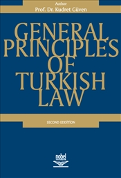 General Principles of Turkish Law - Güven, Kudret