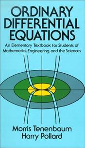 Ordinary Differential Equations - Tenenbaum, Morris