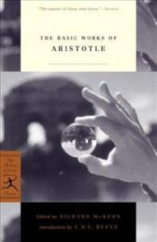 Basic Works of Aristotle  - Aristoteles