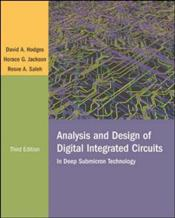 Analysis and Design of Digital Integrated Circuits 3e - Hodges, David A.