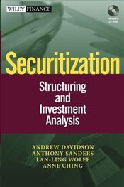 Securitization 1E : Structuring and Investment Analysis - Davidson, Andrew