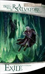 Exile : The Dark Elf Trilogy Book 2 : Legend of Drizzt Series-2 - Salvatore, R. A.