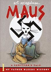 Maus I : Survivors Tale : My Father Bleeds History - Art Spiegelman