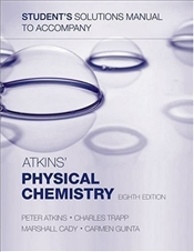Students Solutions Manual for Physical Chemistry 8e - Atkins, Peter