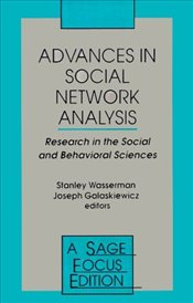 Advances in Social Network Analysis - Wasserman, Stanley