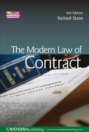 Modern Law of Contract 6e - Stone, Richard