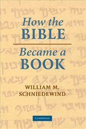 How the Bible Became a Book : The Textualization of Ancient Israel - Schniedewind, William M.