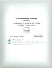 Accounting Principles 8e : General Ledger Software CD-ROM - Weygandt, Jerry J.