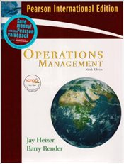 Operations Management 9e PIE with CD - Heizer, Jay
