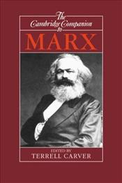 Companion to Marx - Carver, Terrell