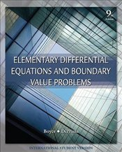Elementary Differential Equations and Boundary Value Problems 9e ISV - Boyce, William E.
