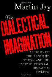 Dialectical Imagination : History of the Frankfurt School and the Institute of Social Research - Jay, Martin