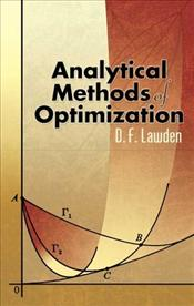 Analytical Methods of Optimization - Lawden, D. F.