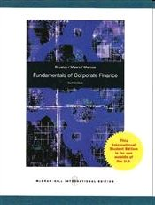 Fundamentals of Corporate Finance 6e - Brealey, Richard A.