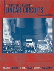 Analysis and Design of Linear Circuits 6E - Thomas, Roland E.
