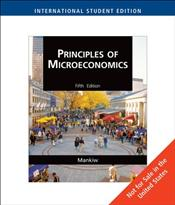 Principles of Microeconomics 5e ISE - Mankiw, Gregory N.