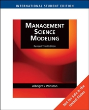 Management Science Modeling 3e - Albright, Christian S.