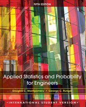 Applied Statistics and Probability for Engineers 5e ISV - Montgomery, Douglas C.