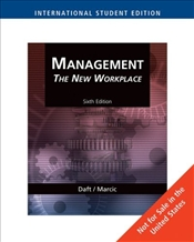 Management 6e : The New Workplace - Daft, Richard L.