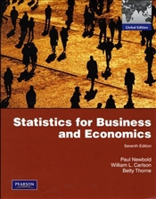 Statistics for Business and Economics 7e PIE - Newbold, Paul