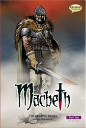 Macbeth : Graphic Novel - Plain Text - Shakespeare, William
