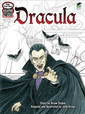 Dracula : Color Your Own Graphic Novel - Stoker, Bram