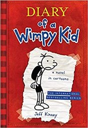 Diary of a Wimpy Kid 1 : A Novel in Cartoons - Kinney, Jeff