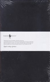 Fabio Ricci - Ruled Notebook 13x21 80yp. (Siyah) -