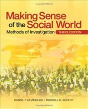 Making Sense of the Social World 3e : Methods of Investigation - Chambliss, Daniel F.