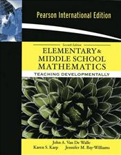 Elementary and Middle School Mathematics 7e : Teaching Developmentally - Van De Walle, John A.