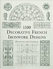 1100 Decorative French Ironwork Designs  -