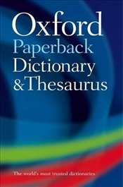 Paperback Dictionary and Thesaurus 3e -