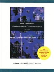 Fundamentals of Corporate Finance 6e : Revised Edition - Brealey, Richard A.