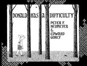 Donald Has a Difficulty - Neumeyer, Peter F.