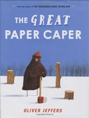Great Paper Caper - Jeffers, Oliver