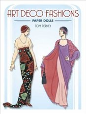 Art Deco Fashions Paper Dolls - Tierney, Tom