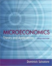 Microeconomics 5E : Theory and Applications - Salvatore, Dominick