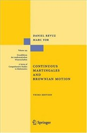 Continuous Martingales and Brownian Motion - Revuz, Daniel
