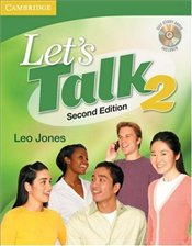 Lets Talk Students Book 2 2e : with Self-Study Audio CD - Jones, Leo