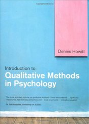 Introduction to Qualitative Methods in Psychology - Howitt, Dennis