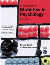 Introduction to Statistics in Psychology 4e - Howitt, Dennis