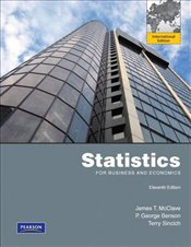 Statistics for Business and Economics 11e PIE - McClave, James T.