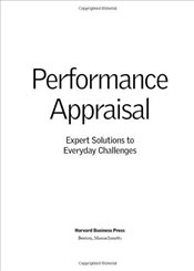 Pocket Mentor Series : Performance Appraisal - Harvard Business