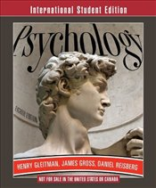 Psychology 8e ISE - GLEITMAN, HENRY