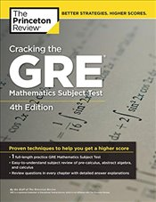 Cracking the GRE Mathematics Subject Test : 4e - Leduc, Steven A.