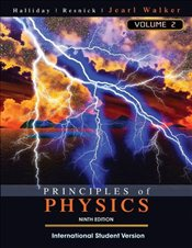 Principles of Physics 9e ISV Volume 2 [Chapters 21-44]  - Halliday, David