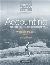 Accounting V2: Working Papers 3e - Kimmel, Paul D.