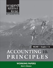 Accounting Principles 10e : Working Papers V1 - Weygandt, Jerry J.