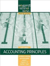 Problem Solving Survival Guide VI Chapters 1-12 to Accompany Accounting Principles 9e - Weygandt, Jerry J.